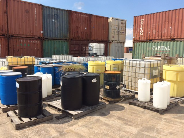 Industrial chemical trading and disposal